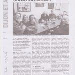 Le Bien Public au café polyglotte